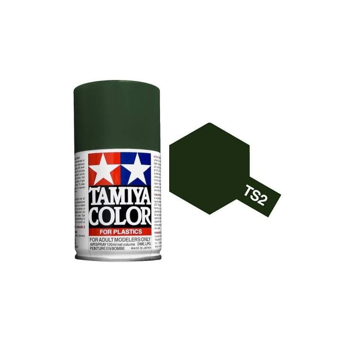 Tamiya Spray Paint TS-2 Dark Green
