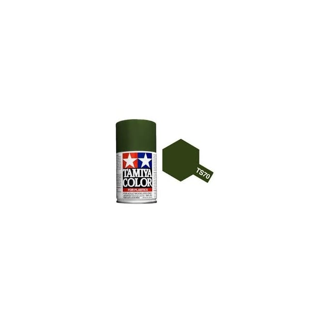 Tamiya Spray Paint TS-70 Olive Drab (JGSDF)