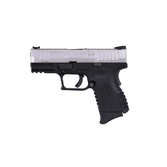 "Springfield Armory XDM 3.8"" Gas Blow Back (GBB) Pistol - Silver/Black"