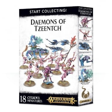 Start Collecting! Daemons of Tzeentch Age of Sigmar