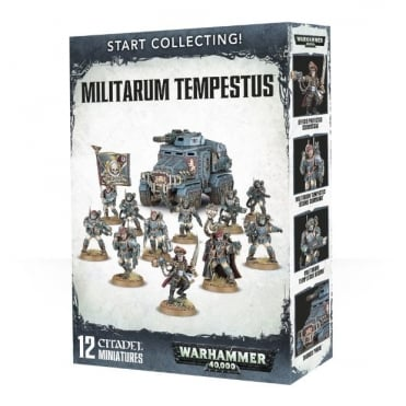 Start Collecting! Militarium Tempestus
