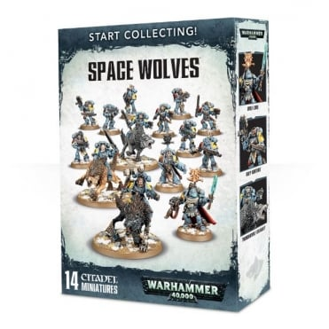 Start Collecting! Space Wolves Warhammer 40,000
