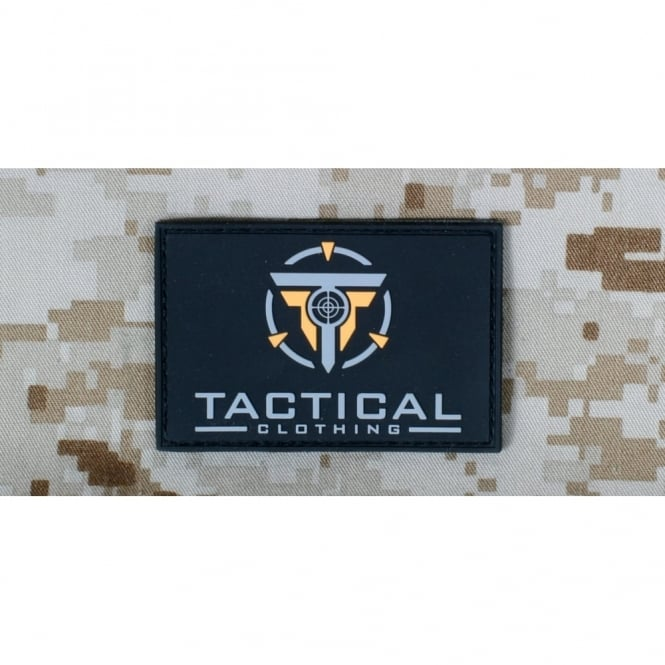 Tactical Clothing Large Patch - Black