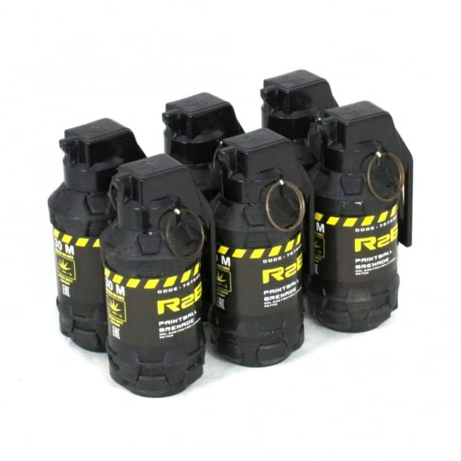Tactical Game Innovations TAG Innovation R2B Paintball Grenade - Pack of 6