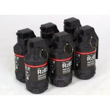 TAG Innovation R2BS Airsoft BB Grenade - Pack of 6