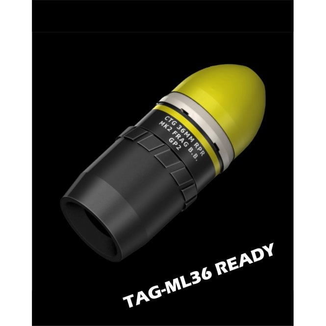 Tactical Game Innovations TAG Innovation Reaper Explosive (Frag) Projectile - Pack of 10