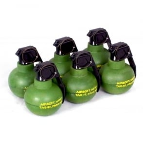 TAG Innovation TAG-67 Airsoft BB Shrapnel Grenade - Pack of 6