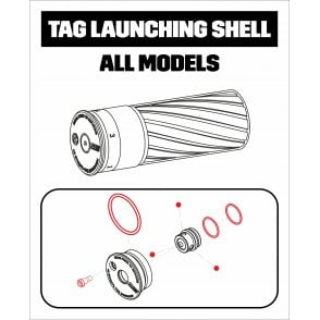 TAG Innovations Shell Repair Kit for Std Shell/PRO/MultiR