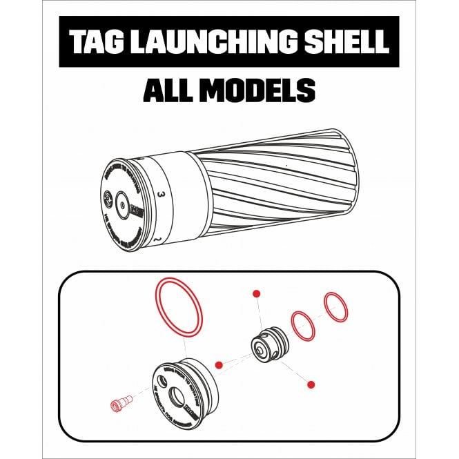 Tactical Game Innovations TAG Innovations Shell Repair Kit