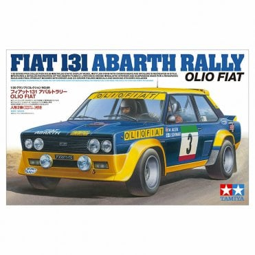 Tamiya 1/20 Fiat 131 Abarth Rally OlioFait Model Kit