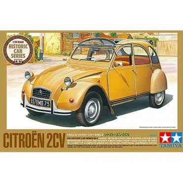 Tamiya 1/24 Citroen 2 CV Model Kit
