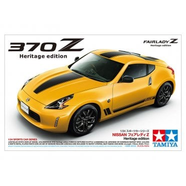 Tamiya 1/24 Nissan 370Z Heritage Edition Model Kit