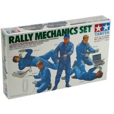 Tamiya 1/24 Rally Mechanics Model Kit