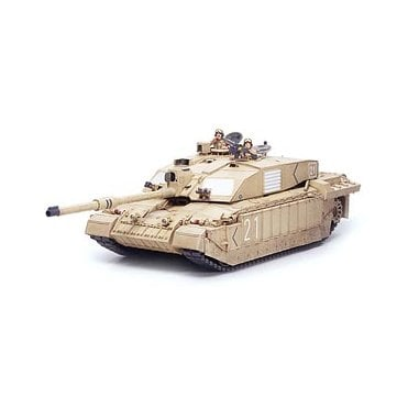 Tamiya 1/35 British Challenger 2 Desertised Main Battle Tank Model Kit