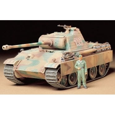 Tamiya 1/35 German Panther Type G Early Version Tank Model Kit