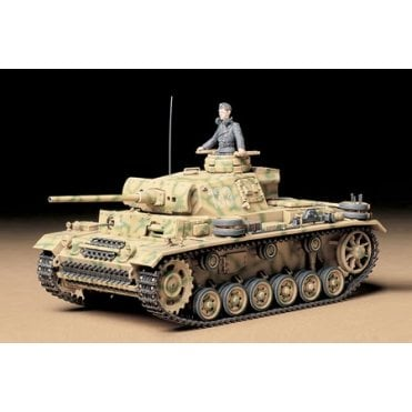 Tamiya 1/35 German PZ. KPFW III AUSF. L Tank Model Kit