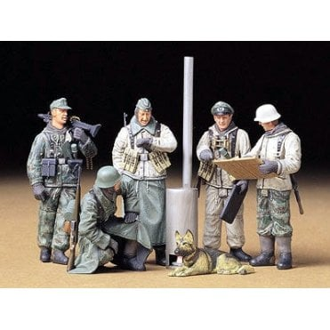 Tamiya 1/35 German Soldiers Field Breifing model Kit