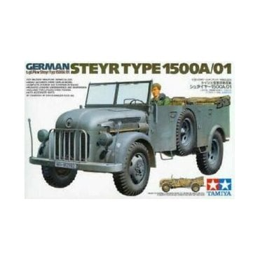 Tamiya 1/35 German Steyr Type 1500A/01 Command Car Model Kit