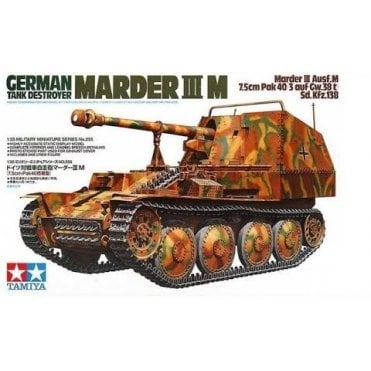 Tamiya 1/35 German Tank Destroyer Marder 111M Model Kit
