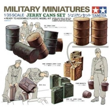 1/35 Jerry Cans Set Model Kit