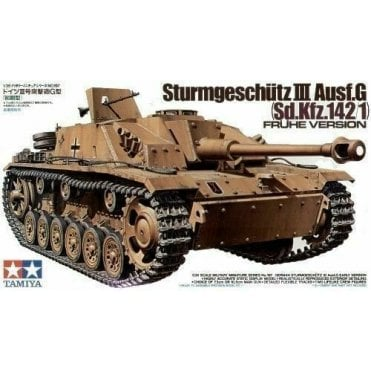 Tamiya 1/35 STURMGESCHUTZ III AUSF G EARLY Tank Model Kit