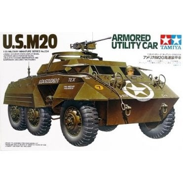 Tamiya 1/35 U.S M20 Armoured Utility Car Model Kit