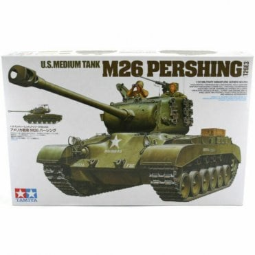 Tamiya 1/35 U.S M26 Pershing Tank Model Kit