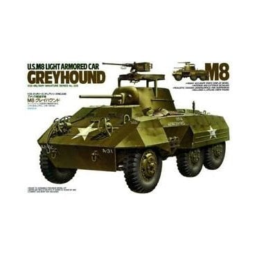 Tamiya 1/35 U.S M8 Greyhound Light Armoured Car Model Kit