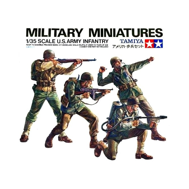 1/35 US Army Infantry Model Kit