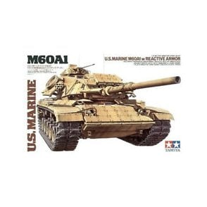 Tamiya 1/35 US Marine M60A1 Tank Model Kit