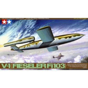 Tamiya 1/35 WWII V-1 Flying Bomb (Fieseler FI103) Model Kit