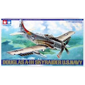 Tamiya 1/48 A-1H Douglas Skyraider Model Kit
