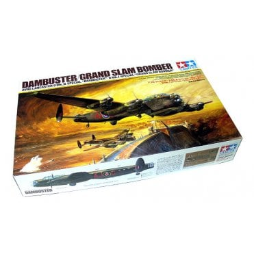 Tamiya 1/48 Avro Lancaster Dambuster Grand Slam Model Kit