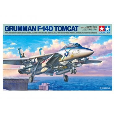 Tamiya 1/48 Grumman F-14D Tomcat Model Kit