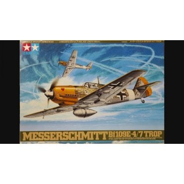 Tamiya 1/48 Messerschmitt Bf 109 E-4/7 Tropical Model Kit