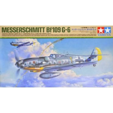 Tamiya 1/48 Messerschmitt Bf109 G-6 Model Kit