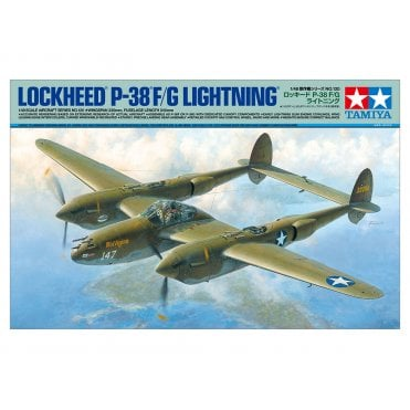 Tamiya 1/48 P-38 F/G Lightning Model Kit