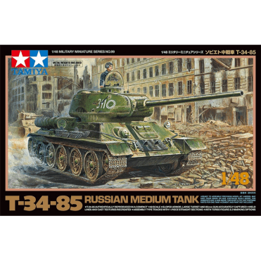 Tamiya 1/48 T34-85 Russian Medium Tank Model Kit