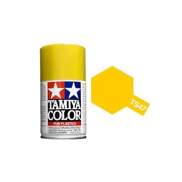 Tamiya Spray Paint TS-47 Chrome Yellow