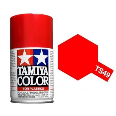 Tamiya Spray Paint TS-49 Bright Red