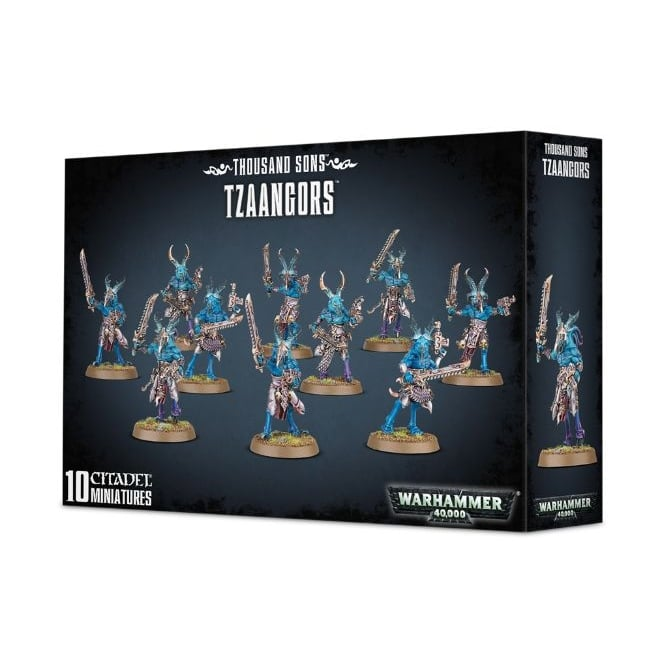 Games Workshop Thousand Sons Tzaangors