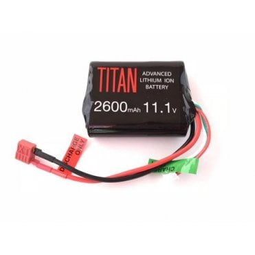 Titan Power 11.1v 2600mAh Li-Ion Brick Battery - Deans Connection
