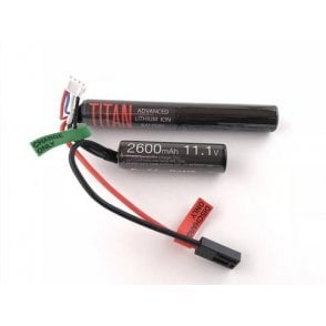 Titan Power 11.1v 2600mAh Li-Ion Nunchuck Battery - Tamiya Connection