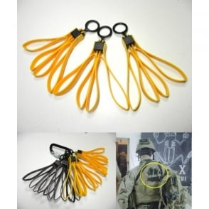 TMC Folding Plastic Dummy Restraints - Yellow