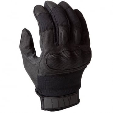 Touchscreen Hard Knuckle Glove Black