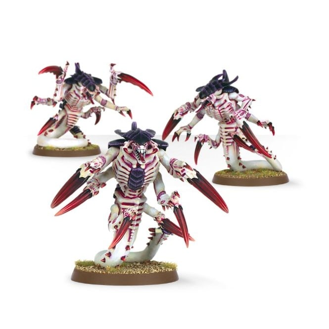 Games Workshop Tyranid Ravener Brood