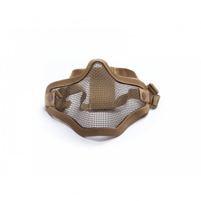 Ultimate Strike Systems Half Face Mask - Tan