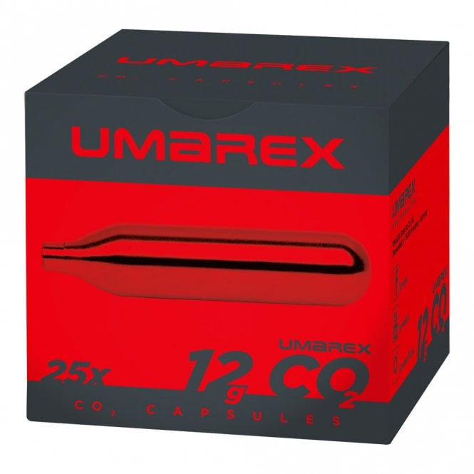 Umarex 12g CO2 Bulbs/Capsules - 25pk