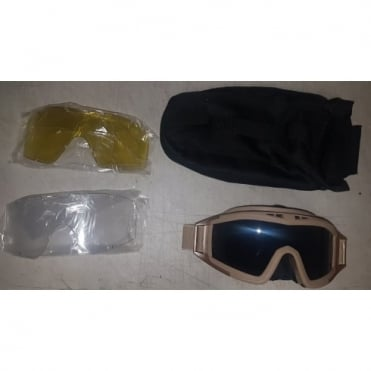 Umarex Elite Force Goggles Tan