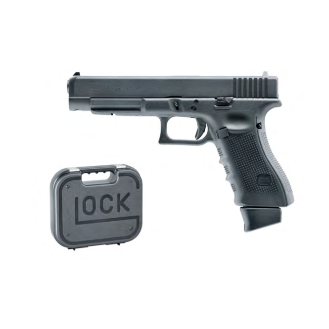 Umarex Glock 34 Gen4 Co2 Blowback Pistol - Deluxe Kit